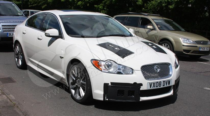Jaguar XF-R (2009): the spy photos   CAR Magazine on