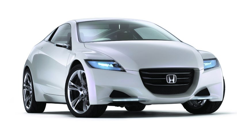 Honda Cr Z Concept Car Will Be On By 2010