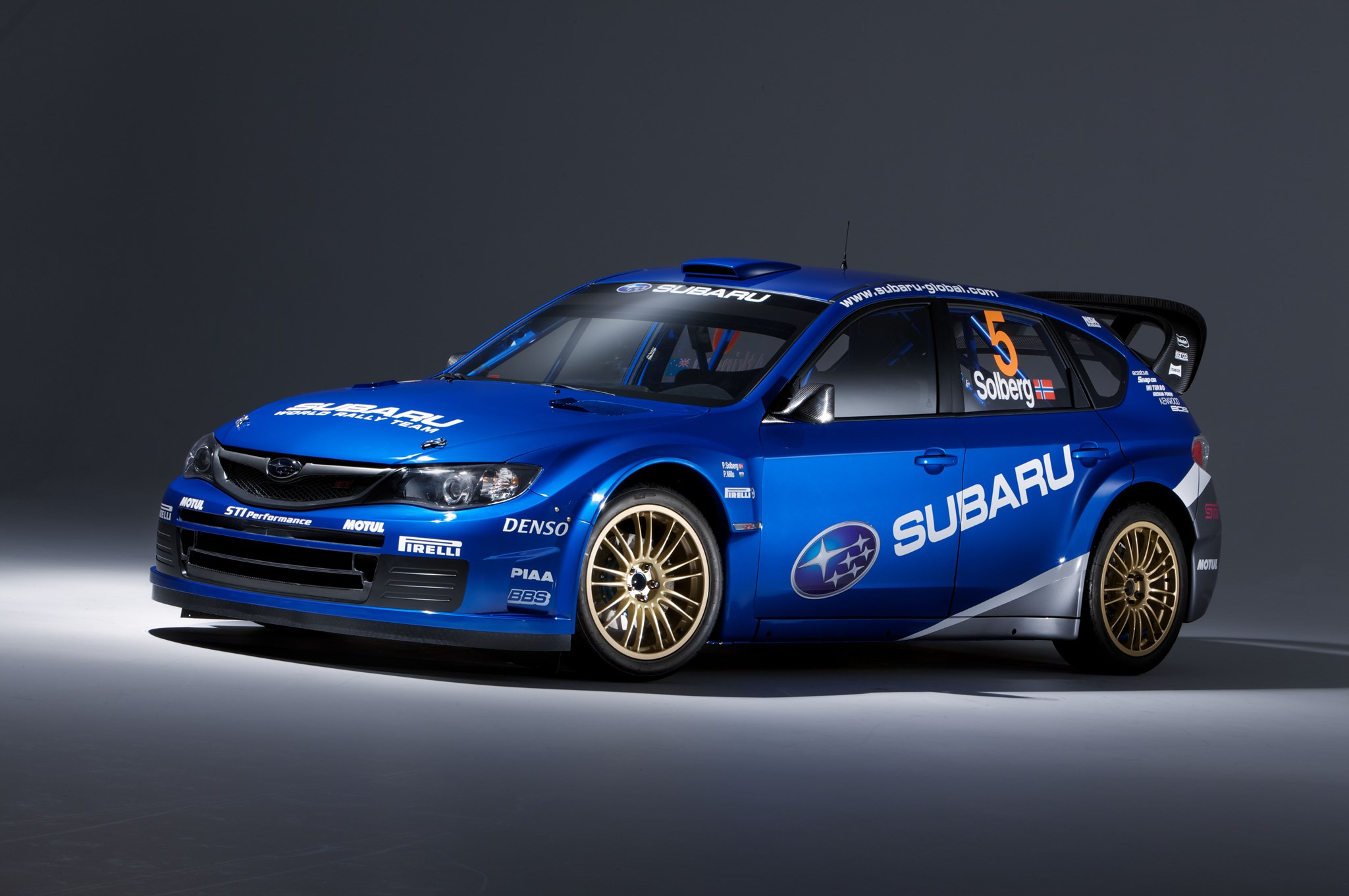 Subaru S Wrc Impreza Rally Car 2008 First Pictures By
