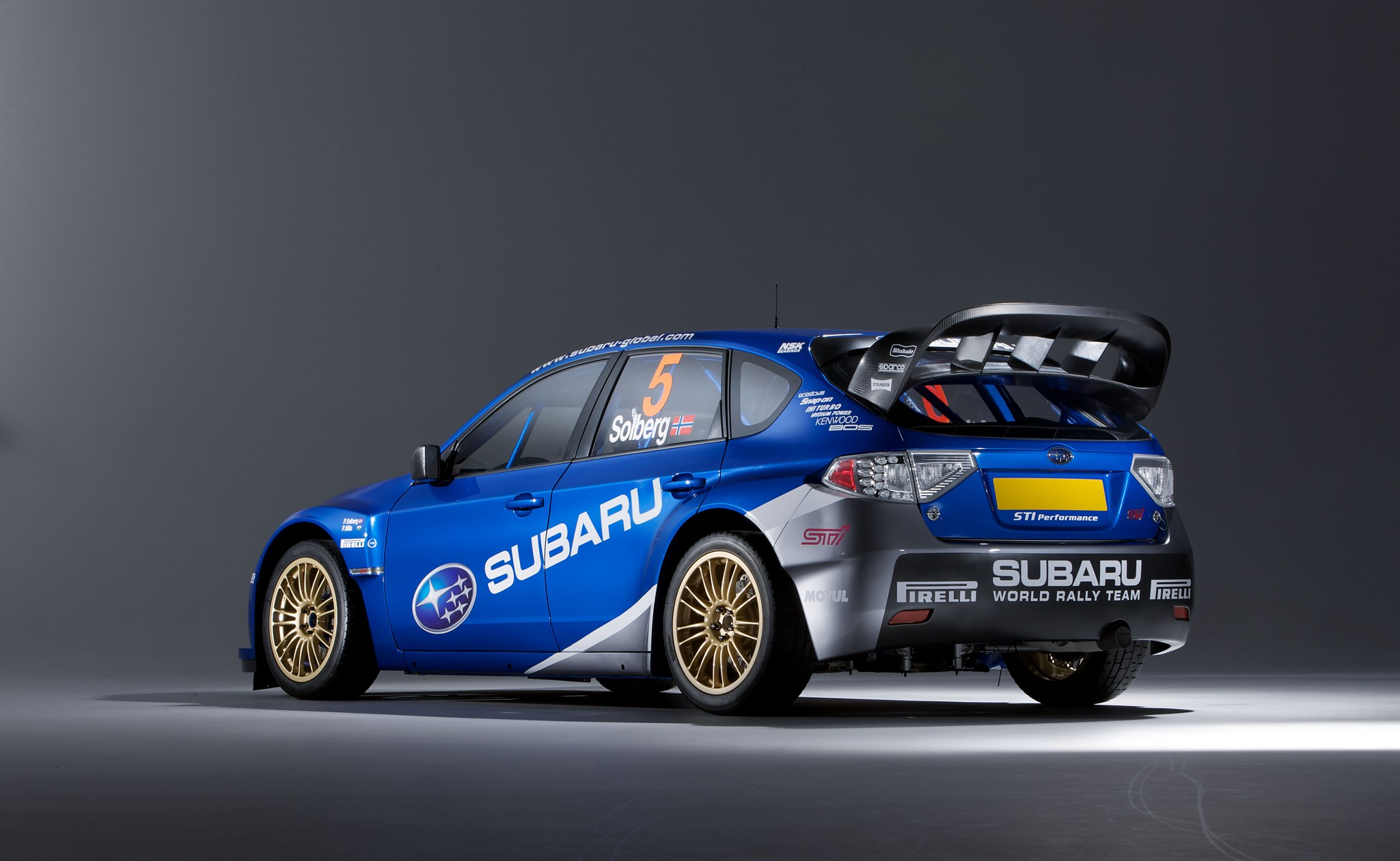 Subaru S Wrc Impreza Rally Car 2008 First Pictures By Car Magazine
