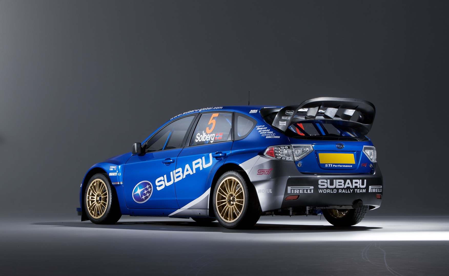 Subaru\'s WRC Impreza rally car (2008): first pictures by CAR Magazine