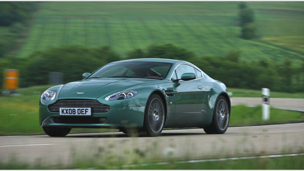 Aston Martin V8 Vantage Coupe (2008) review | CAR Magazine