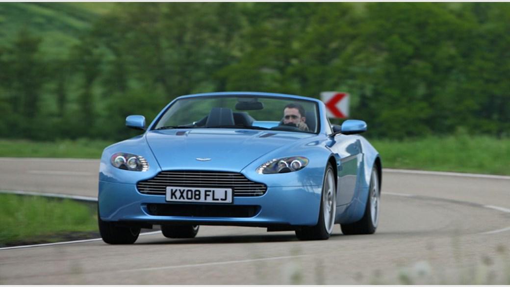 Aston Martin 4 7 Litre V8 Vantage Roadster Sportshift 2008 Review