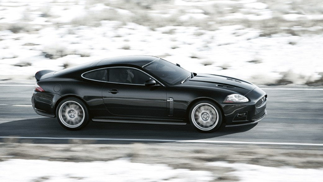 Lovely Jaguar XKR S Car Review: Side View Picture