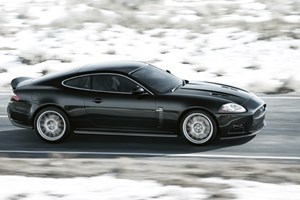 Jaguar XKR-S car review: side view picture