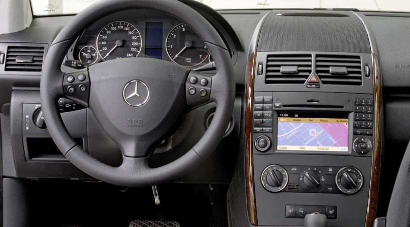 mercedes a170 eco stop start 5dr 2008 review by car magazine. Black Bedroom Furniture Sets. Home Design Ideas