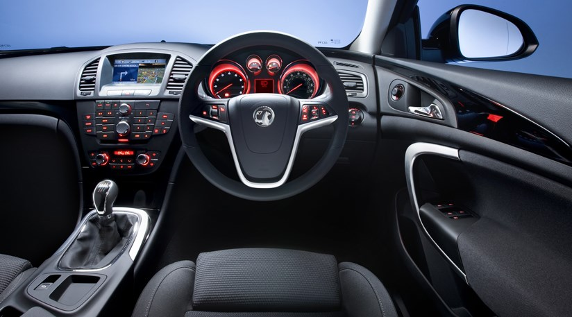 vauxhall insignia interior first pictures by car magazine. Black Bedroom Furniture Sets. Home Design Ideas