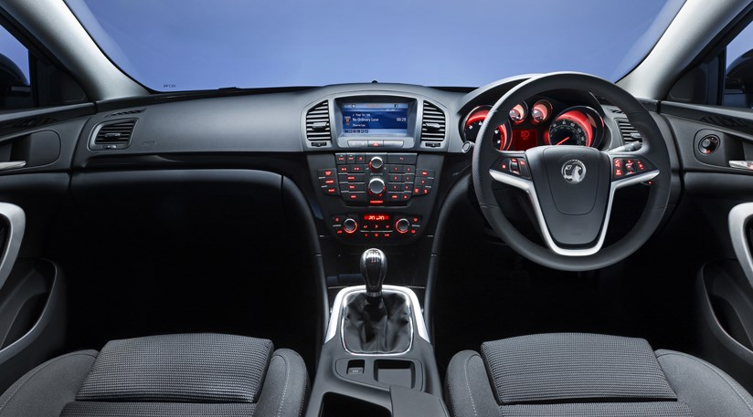 Vauxhall Insignia Interior First Pictures Car Magazine