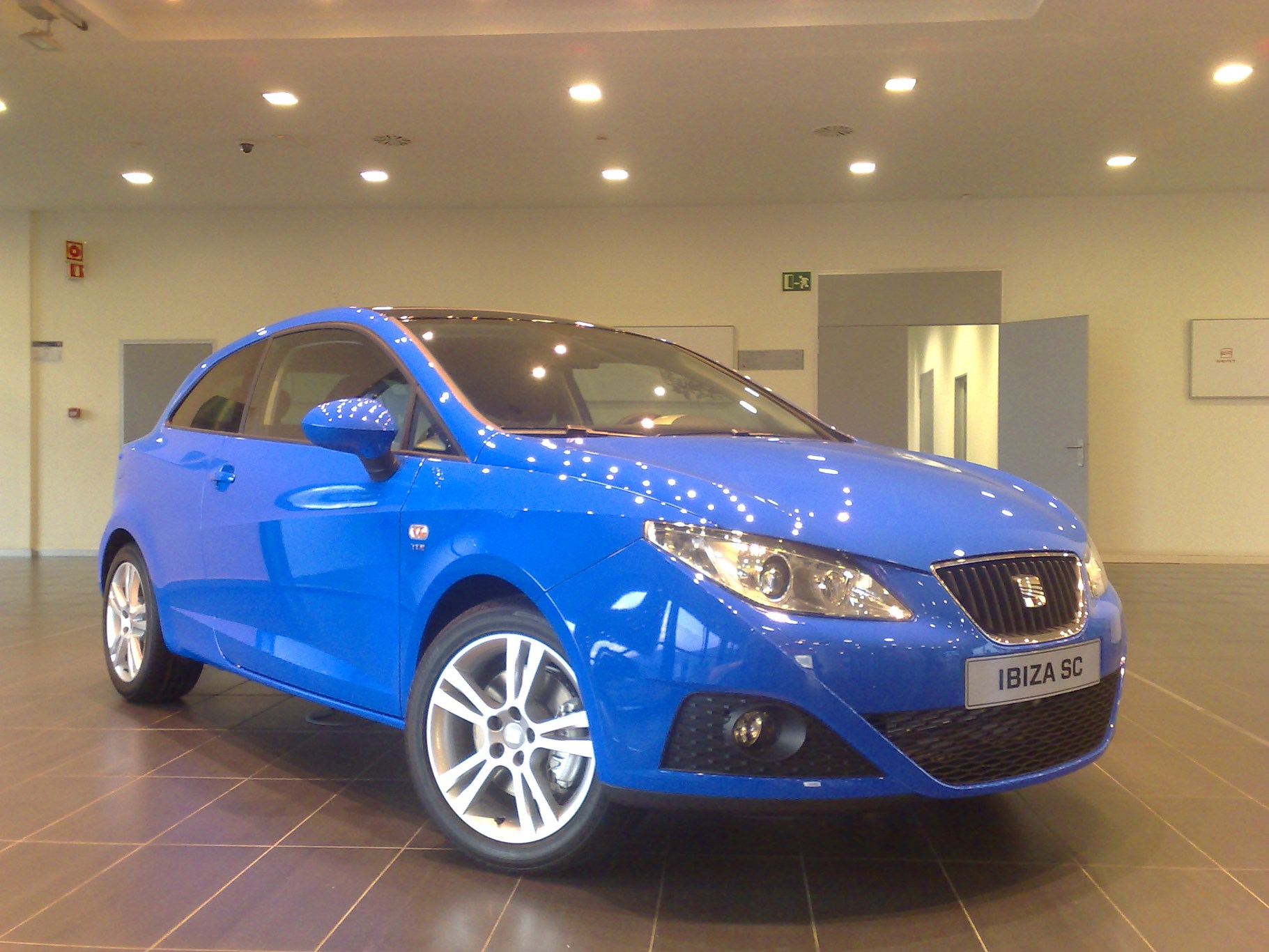Seat Ibiza Sportcoupe Sneak Preview By Car Magazine