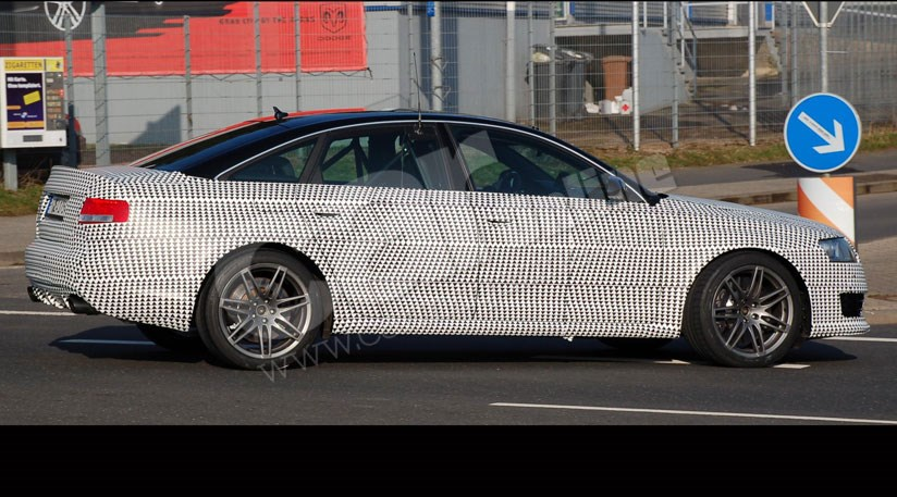 Audi A6 facelift and RS6 saloon spy photos. Click Thumbnails to Enlarge