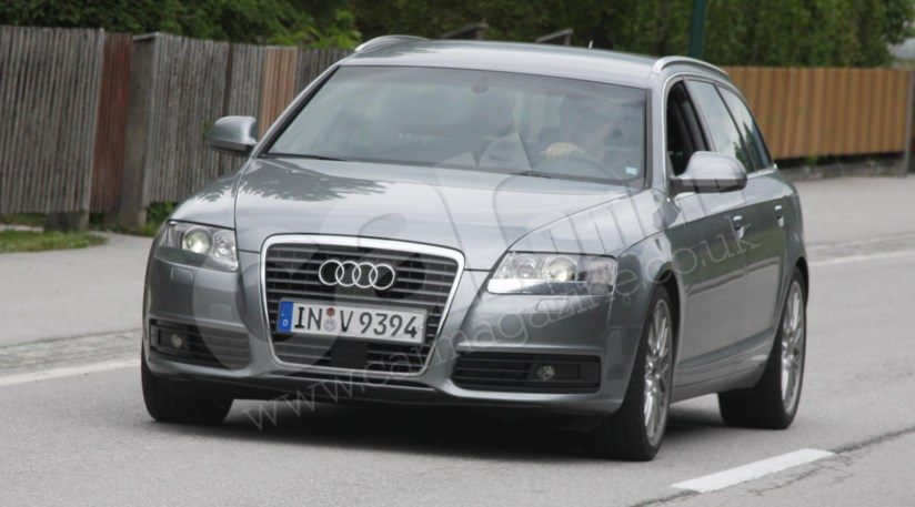 audi a6 facelift 2009 undisguised spyshots by car magazine. Black Bedroom Furniture Sets. Home Design Ideas