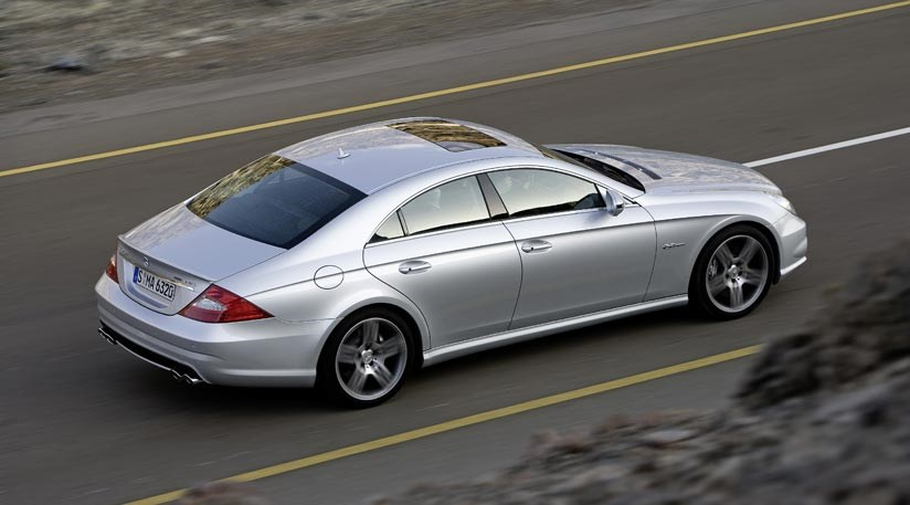 mercedes cls63 amg (2008): reviewcar magazine