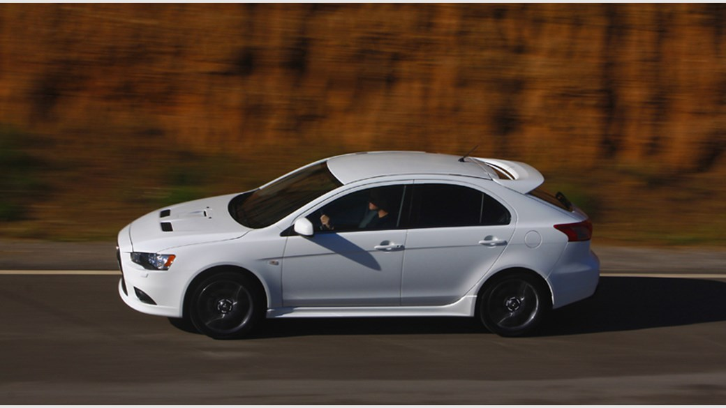 Mitsubishi Lancer Sportback Ralliart 2008 review by CAR Magazine