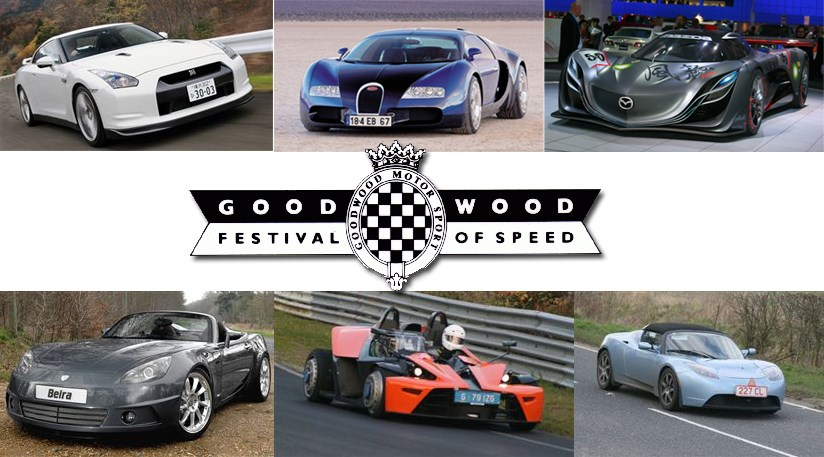 Goodwood Festival of Speed Where Goodwood Sussex