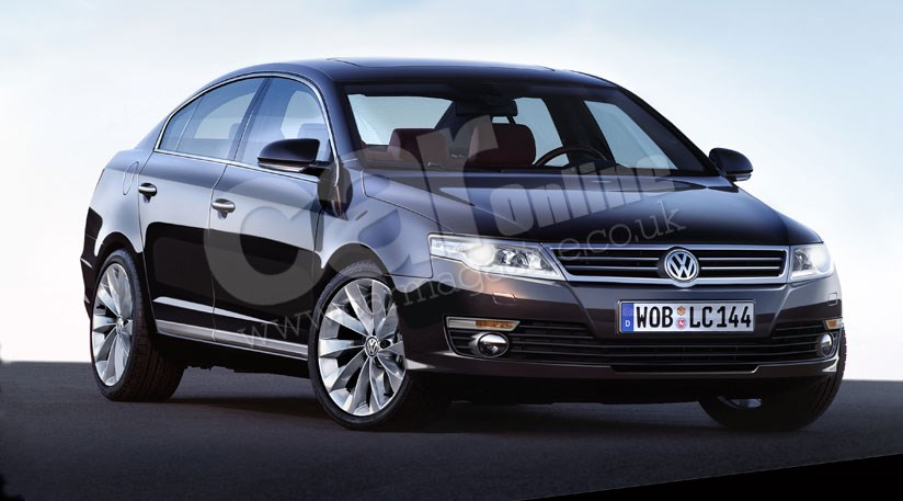 2012 VW Passat Model Cars