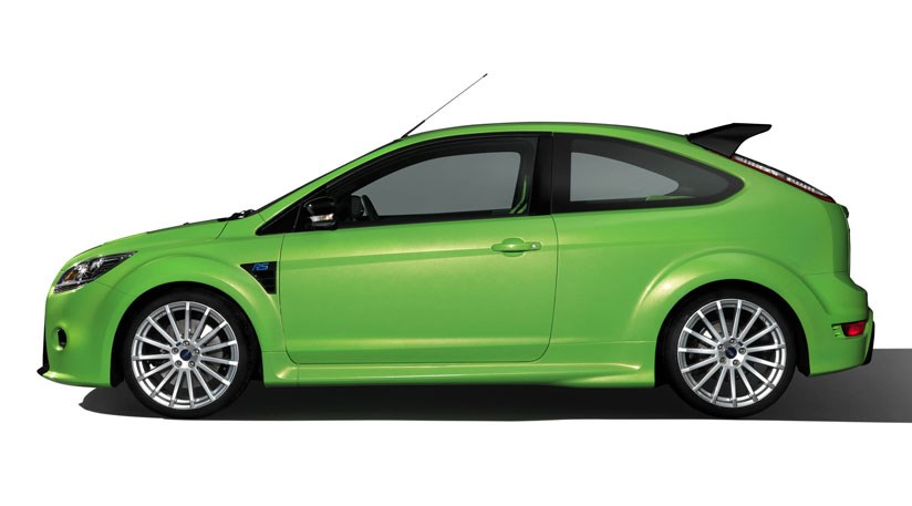 Ford Focus St Green Paint
