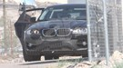 BMW X6 hybrid (2009) spy photos: front three-quarter picture