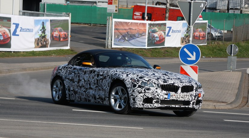 Bmw Z4 2009 New Car Spy Video By Car Magazine