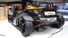 KTM X-Bow rear three quarters photo: expect to see more, stripped back cars from KTM by 2010