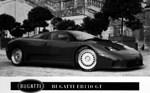 Bugatti EB110 supercar