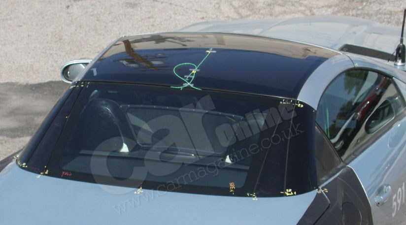 Mercedes Slk S 2011 Panoramic Glass Roof The Spy Photos