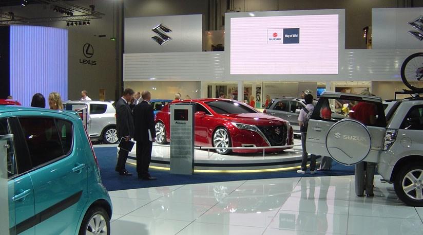 London Motor Cars >> Suzuki At The London Motor Show 2008 Car Magazine