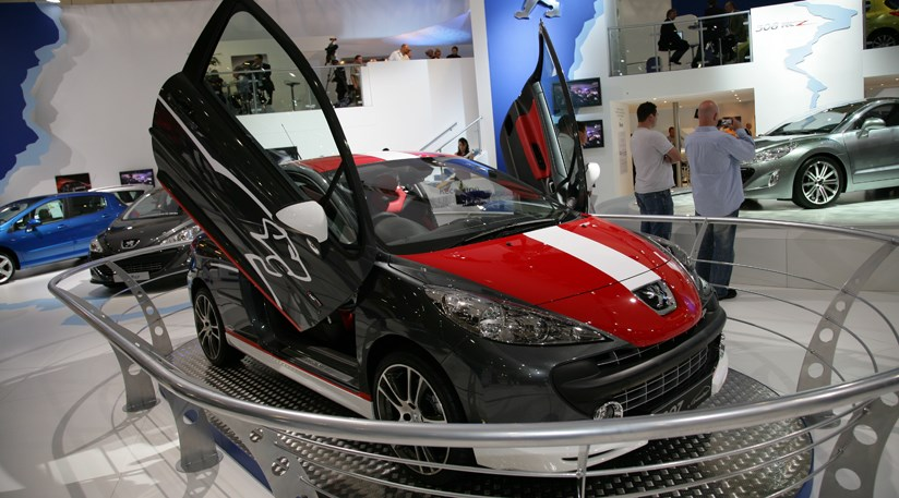 Peugeot At The London Motor Show 2008 By Car Magazine