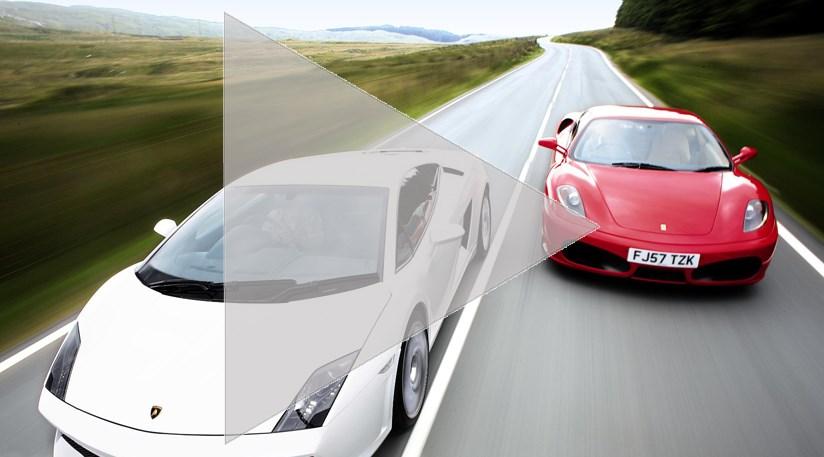 Lambo LP560-4 vs Ferrari F430 video road test | CAR Magazine