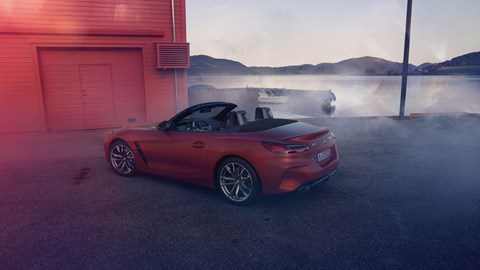 new bmw z4: first pictures of roadster leak | car magazine