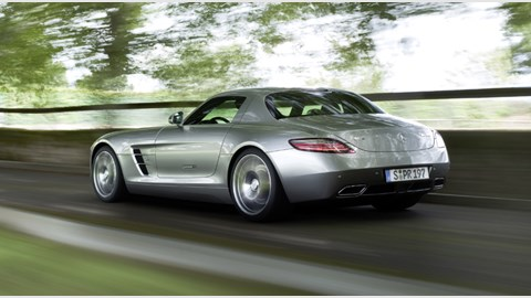 mercedes sls amg (2009) review by car magazine